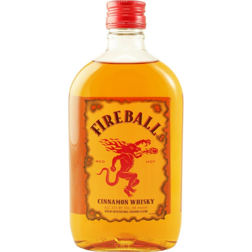 Fireball Cinnamon Whiskey 375mL Type: Liquor Categories: 375mL, Flavored, size_375mL, subtype_Flavored, subtype_Whiskey, Whiskey. Buy today at Wine and Liquor Mart Poughkeepsie