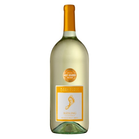 Barefoot Riesling - 1.5L Type: White Categories: 1.5L, California, quantity high enough for online, region_California, Riesling, size_1.5L, subtype_Riesling. Buy today at Wine and Liquor Mart Poughkeepsie