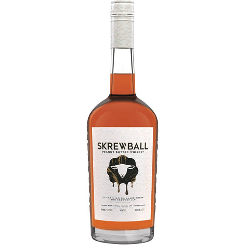 Skrewball Peanut Butter Whiskey - 750ml Bottle Type: Liquor Categories: 750mL, quantity low hide from online store, size_750mL, subtype_Whiskey, Whiskey. Buy today at Wine and Liquor Mart Poughkeepsie