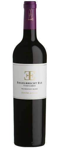 Engelbrecht Els Vineyards 2004 Proprietor's Red Blend 750mL Type: Red Categories: 750mL, Red Blend, region_South Africa, size_750mL, South Africa, subtype_Red Blend. Buy today at Wine and Liquor Mart Poughkeepsie