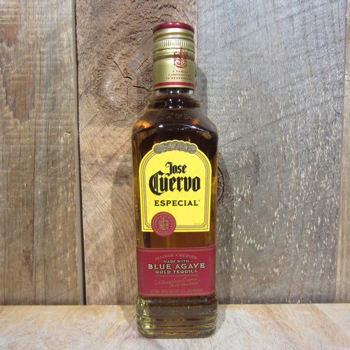 Jose Cuervo Especial Gold Tequila 375mL Type: Liquor Categories: 375mL, size_375mL, subtype_Tequila, Tequila. Buy today at Wine and Liquor Mart Poughkeepsie