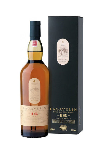 Lagavulin - Single Islay Malt Whisky 16 yr 750mL Type: Liquor Categories: 750mL, quantity exception rare, Scotch, size_750mL, subtype_Scotch, subtype_Whiskey, Whiskey. Buy today at Wine and Liquor Mart Poughkeepsie
