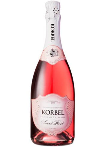 Korbel - Champagne - California - Sweet Rose 750mL Type: Champagne & Sparkling Categories: 750mL, California, quantity high enough for online, region_California, size_750mL, Sparkling Wine, subtype_Sparkling Wine. Buy today at Wine and Liquor Mart Poughkeepsie