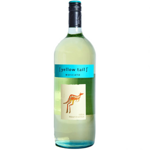 Yellow Tail Moscato 1.5L Type: White Categories: 1.5L, Australia, Moscato, quantity high enough for online, region_Australia, size_1.5L, subtype_Moscato. Buy today at Wine and Liquor Mart Poughkeepsie