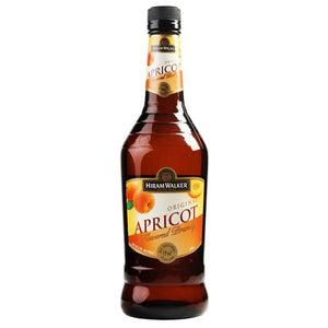 Hiram Walker Apricot Brandy 750 mL Type: Liquor Categories: 750mL, Brandy, Flavored, size_750mL, subtype_Brandy, subtype_Flavored. Buy today at Wine and Liquor Mart Poughkeepsie