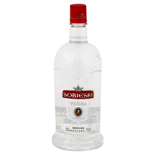 Sobieski - Vodka 1.75L Type: Liquor Categories: 1.75L, quantity high enough for online, size_1.75L, subtype_Vodka, Vodka. Buy today at Wine and Liquor Mart Poughkeepsie