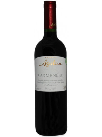 Agustinos Carmenere 750mL Type:  Categories: 750mL, Chile, Red, region_Chile, size_750mL, subtype_Red. Buy today at Wine and Liquor Mart Poughkeepsie