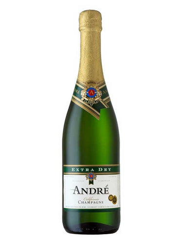 André Champagne® Extra Dry 750mL Bottle Type: Champagne & Sparkling Categories: 750mL, California, Champagne & Sparkling Wine, quantity high enough for online, region_California, size_750mL, subtype_Champagne & Sparkling Wine. Buy today at Wine and Liquor Mart Poughkeepsie
