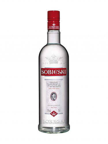 Sobieski - Vodka 1L Type: Liquor Categories: 1L, quantity high enough for online, size_1L, subtype_Vodka, Vodka. Buy today at Wine and Liquor Mart Poughkeepsie