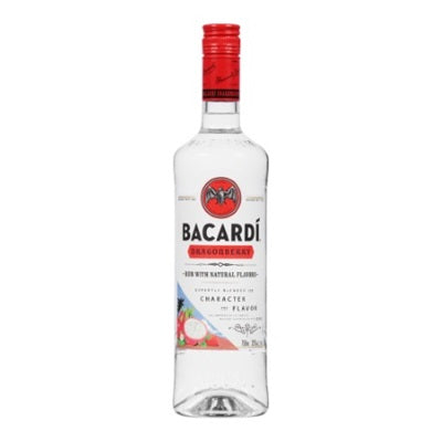 Bacardi Dragon Berry Rum 1L Bottle Type: Liquor Categories: 1L, Flavored, quantity high enough for online, Rum, size_1L, subtype_Flavored, subtype_Rum. Buy today at Wine and Liquor Mart Poughkeepsie