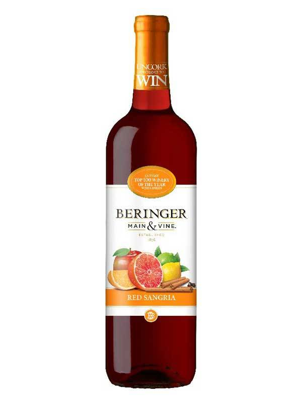 Beringer Red Sangria 750mL Type: Red Categories: 750mL, California, Red, region_California, Sangria, size_750mL, subtype_Red, subtype_Sangria. Buy today at Wine and Liquor Mart Poughkeepsie