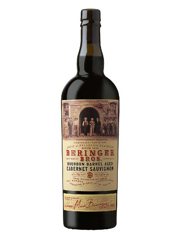 Beringer Brothers Bourbon Barrel Aged Cabernet Sauvignon - 750mL Type: Red Categories: 750mL, Cabernet Sauvignon, California, quantity high enough for online, region_California, size_750mL, subtype_Cabernet Sauvignon. Buy today at Wine and Liquor Mart Poughkeepsie