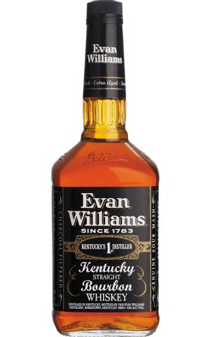 Evan Williams Evan William Black Label 1.0L Type: Liquor Categories: 1L, Bourbon, quantity high enough for online, size_1L, subtype_Bourbon, subtype_Whiskey, Whiskey. Buy today at Wine and Liquor Mart Poughkeepsie