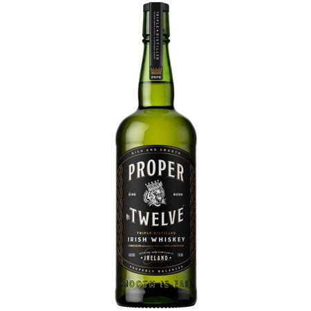 Proper No 12 Irish Whiskey 750ml Type: Liquor Categories: 750mL, Irish, quantity low hide from online store, size_750mL, subtype_Irish, subtype_Whiskey, Whiskey. Buy today at Wine and Liquor Mart Poughkeepsie
