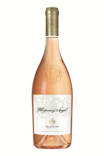 Chateau d'Esclans Whispering Angel Rose Type: Pink Categories: 750mL, France, quantity high enough for online, region_France, Rosé, size_750mL, subtype_Rosé. Buy today at Wine and Liquor Mart Poughkeepsie