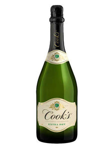 Cook's Extra Dry Champagne 750ml Type: Champagne & Sparkling Categories: 750mL, California, Champagne, Champagne & Sparkling Wine, region_California, size_750mL, subtype_Champagne, subtype_Champagne & Sparkling Wine. Buy today at Wine and Liquor Mart Poughkeepsie