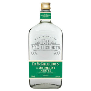 Dr. McGillicuddy's Mentholmint Liqueur 750mL Type: Liquor Categories: 750mL, Liqueur, quantity low hide from online store, Schnapps, size_750mL, subtype_Liqueur, subtype_Schnapps. Buy today at Wine and Liquor Mart Poughkeepsie