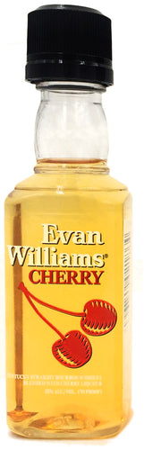 Evan Williams Cherry Reserve 50 ml Type: Liquor Categories: 50mL, Liqueur, quantity high enough for online, size_50mL, subtype_Liqueur. Buy today at Wine and Liquor Mart Poughkeepsie