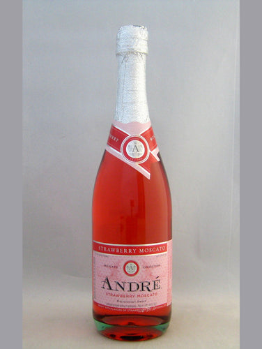 Andre Strawberry Moscato NV-750 mL Bottle Type: White Categories: 750mL, California, Champagne & Sparkling Wine, quantity high enough for online, region_California, size_750mL, subtype_Champagne & Sparkling Wine. Buy today at Wine and Liquor Mart Poughkeepsie