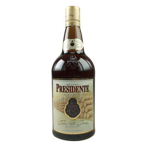 Presidente Brandy 1.0L Type: Liquor Categories: 1L, Brandy, quantity high enough for online, size_1L, subtype_Brandy. Buy today at Wine and Liquor Mart Poughkeepsie