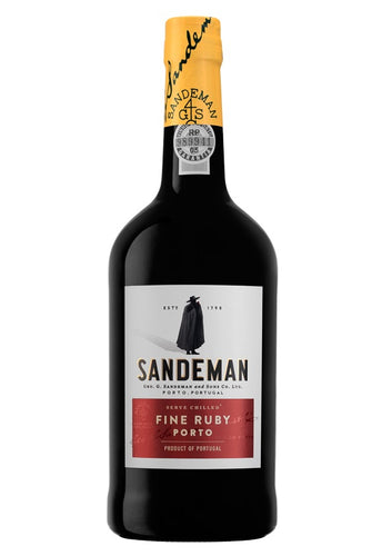 Sandeman Ruby Port Wine 750mL Type: Dessert & Fortified Wine Categories: 750mL, Port, Portugal, region_Portugal, size_750mL, subtype_Port. Buy today at Wine and Liquor Mart Poughkeepsie