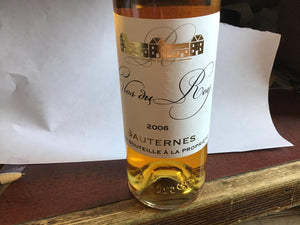 Clos du Roy 2006 (Sauternes) 375mL Type: Dessert & Fortified Wine Categories: 375mL, France, quantity high enough for online, region_France, size_375mL. Buy today at Wine and Liquor Mart Poughkeepsie