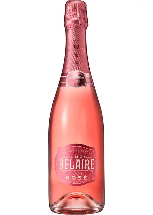Luc Belaire Luxe Rosé Clear Champagne 750mL