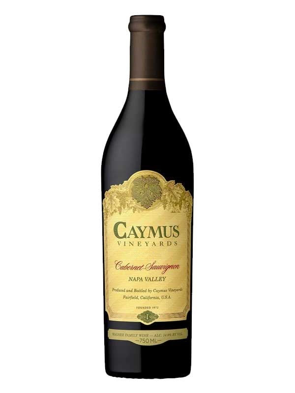 Caymus Napa Valley Cabernet Sauvignon 2018 750mL