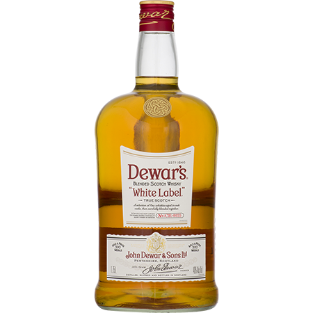 Dewars White Label Blended Scotch Whisky 1.75L