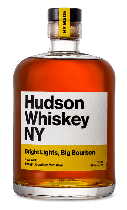 Hudson Whiskey NY Bright Lights, Big Bourbon 750mL