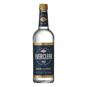 Everclear Grain Alcohol 190 Proof 1L