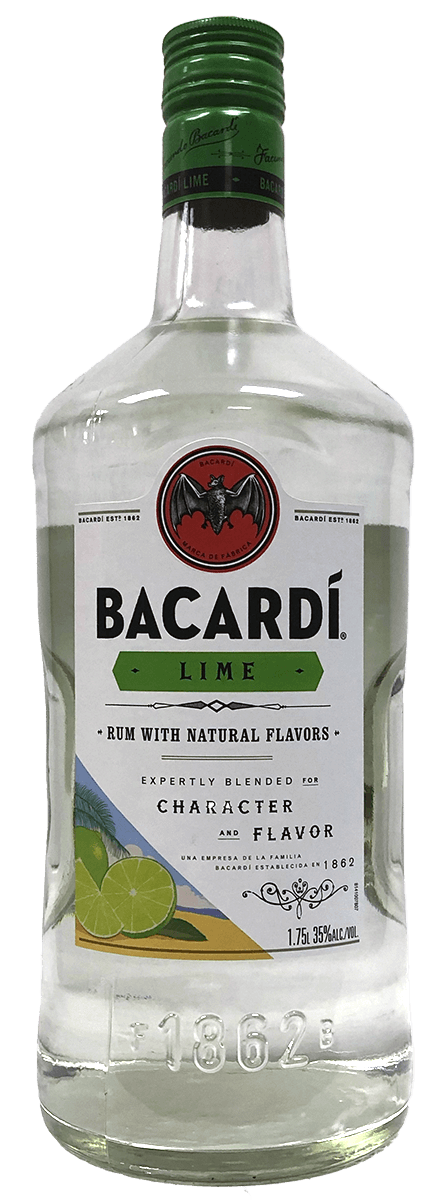 Bacardi Lime Rum 1.75L Type: Liquor Categories: 1.75L, Flavored, Rum, size_1.75L, subtype_Flavored, subtype_Rum. Buy today at Wine and Liquor Mart Poughkeepsie