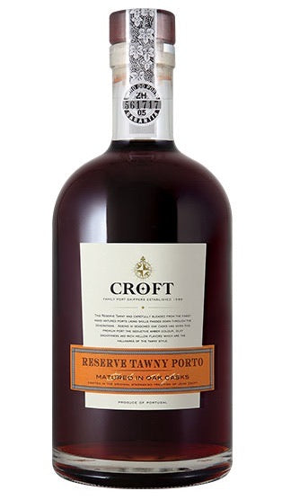 Croft Reserve Tawny Porto 750 mL Type: Dessert & Fortified Wine Categories: 750mL, Port, Portugal, region_Portugal, size_750mL, subtype_Port. Buy today at Wine and Liquor Mart Poughkeepsie