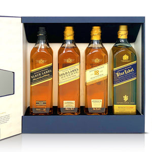 Johnnie Walker Collection Gift Set 4 Pack 200mL