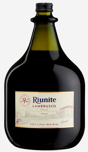 Riunite Lambrusco 3L Type: Red Categories: 3L, quantity low hide from online store, Red, size_3L, subtype_Red. Buy today at Wine and Liquor Mart Poughkeepsie