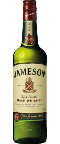 Jameson Irish Whiskey - 1L Bottle Type: Liquor Categories: 1L, Irish, quantity high enough for online, size_1L, subtype_Irish, subtype_Whiskey, Whiskey. Buy today at Wine and Liquor Mart Poughkeepsie