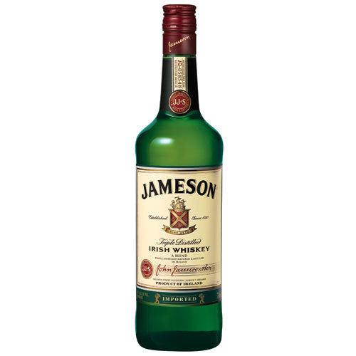 Jameson Irish Whiskey 750 ml Type: Liquor Categories: 750mL, Irish, quantity high enough for online, size_750mL, subtype_Irish, subtype_Whiskey, Whiskey. Buy today at Wine and Liquor Mart Poughkeepsie