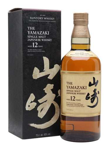 Suntory Yamazaki 12 Year Old Japanese Single Malt Whisky Scotch 750mL Type: Liquor Categories: 750mL, quantity exception rare, Scotch, size_750mL, subtype_Scotch, subtype_Whiskey, Whiskey. Buy today at Wine and Liquor Mart Poughkeepsie