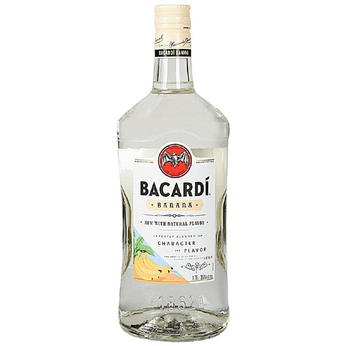 Bacardi  Banana Rum 1.75L Type: Liquor Categories: 1.75L, Flavored, quantity high enough for online, Rum, size_1.75L, subtype_Flavored, subtype_Rum. Buy today at Wine and Liquor Mart Poughkeepsie