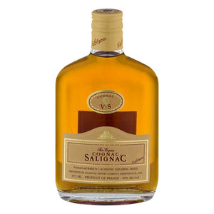 Salignac VS Cognac 375mL Type: Liquor Categories: 375mL, Cognac, quantity high enough for online, size_375mL, subtype_Cognac. Buy today at Wine and Liquor Mart Poughkeepsie