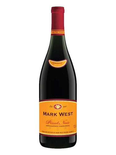 Mark West Pinot Noir 750 ml Type: Red Categories: 750mL, California, Pinot Noir, quantity high enough for online, region_California, size_750mL, subtype_Pinot Noir. Buy today at Wine and Liquor Mart Poughkeepsie