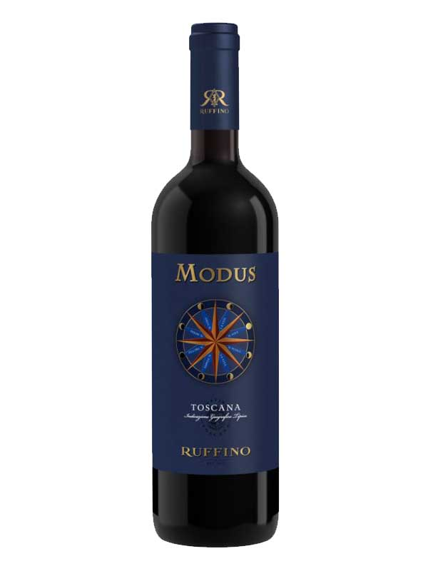 Ruffino Modus Toscana 750mL Type: Red Categories: 750mL, Italy, quantity high enough for online, Red Blend, region_Italy, size_750mL, subtype_Red Blend. Buy today at Wine and Liquor Mart Poughkeepsie