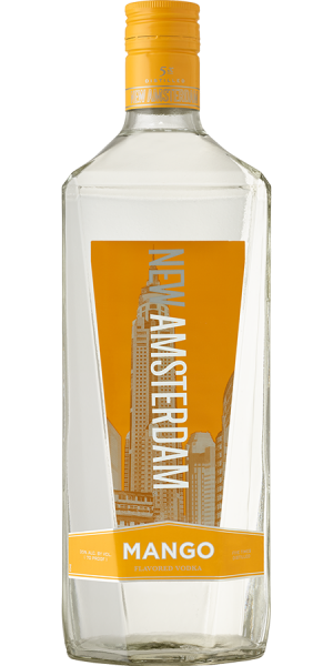New Amsterdam Mango Flavored Vodka 1.75 L Type: Liquor Categories: 1.75L, Flavored, quantity low hide from online store, size_1.75L, subtype_Flavored, subtype_Vodka, Vodka. Buy today at Wine and Liquor Mart Poughkeepsie