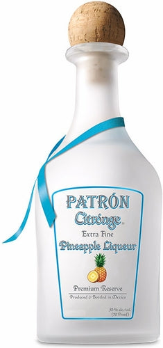 Patrón Pineapple Liqueur 375 mL Type: Liquor Categories: 375mL, Liqueur, quantity low hide from online store, size_375mL, subtype_Liqueur, subtype_Tequila, Tequila. Buy today at Wine and Liquor Mart Poughkeepsie