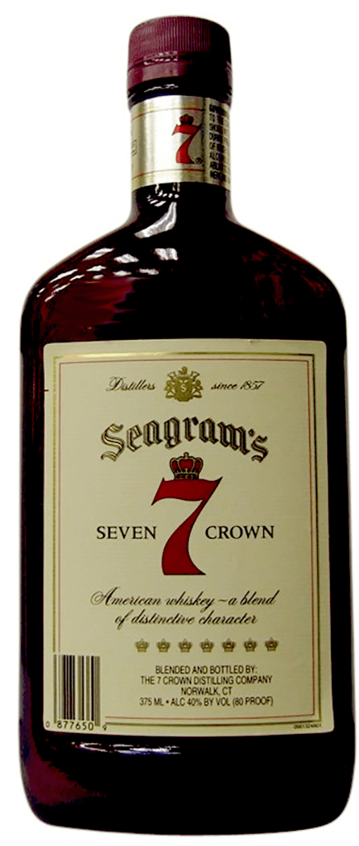 Seagrams 7 Crown 375ml Type: Liquor Categories: 375mL, quantity high enough for online, size_375mL, subtype_Whiskey, Whiskey. Buy today at Wine and Liquor Mart Poughkeepsie