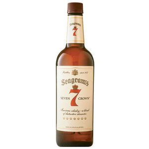 Seagram's 7 Crown Blended Whiskey 750mL Type: Liquor Categories: 750mL, quantity high enough for online, size_750mL, subtype_Whiskey, Whiskey. Buy today at Wine and Liquor Mart Poughkeepsie