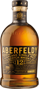 Dewar's Aberfeldy 12 Year Old Highland Single Malt Scotch 750 ml Type: Liquor Categories: 750mL, Scotch, size_750mL, subtype_Scotch, subtype_Whiskey, Whiskey. Buy today at Wine and Liquor Mart Poughkeepsie