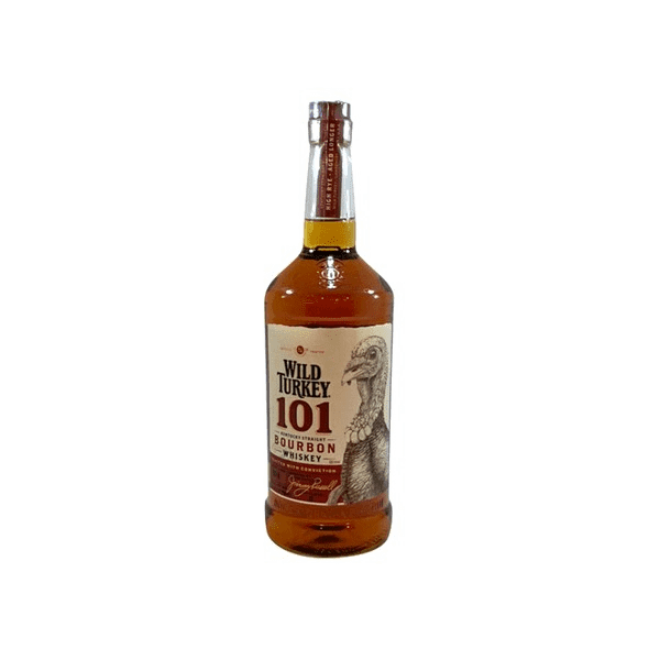 Wild Turkey (101 Proof) Whiskey Bourbon 1L Type: Liquor Categories: 1L, Bourbon, quantity high enough for online, size_1L, subtype_Bourbon, subtype_Whiskey, Whiskey. Buy today at Wine and Liquor Mart Poughkeepsie