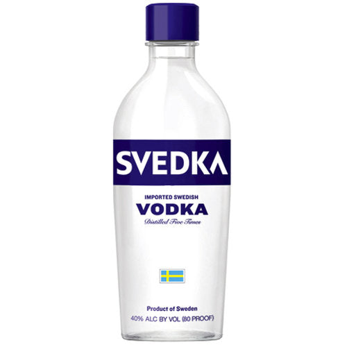 Svedka Vodka 200ml Type: Liquor Categories: 200mL, Flavored, quantity high enough for online, size_200mL, subtype_Flavored, subtype_Vodka, Vodka. Buy today at Wine and Liquor Mart Poughkeepsie