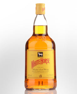 White Horse Whiskey 1 L Type: Liquor Categories: 1L, quantity high enough for online, Scotch, size_1L, subtype_Scotch, subtype_Whiskey, Whiskey. Buy today at Wine and Liquor Mart Poughkeepsie